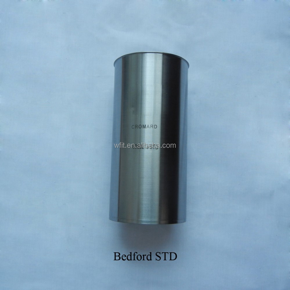 Steel chromed Bedford J6 330 cylinder liner