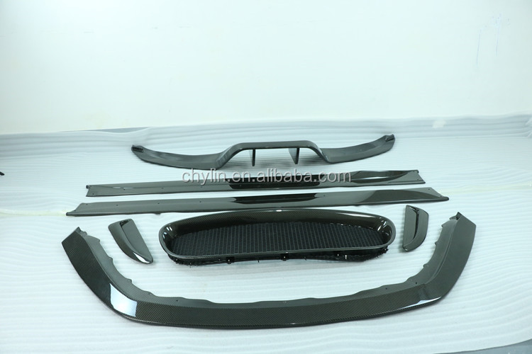 Car styling two side carbon fiber bodykit for Jaguar F-type 2013-2016