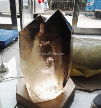 large smoky quartz stone crystal points for sale