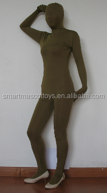 latex zentai full body suits