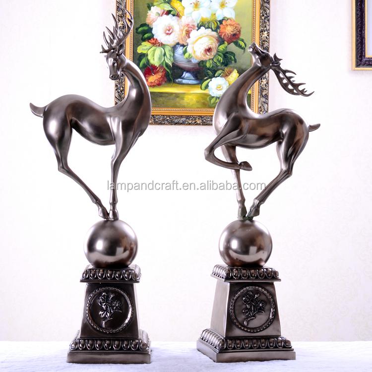 Wholesale Animals Horse Home Kalash Decor With Bronze Made