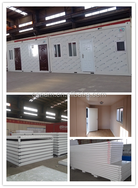 Low cost prefabricated container house price in South Africa