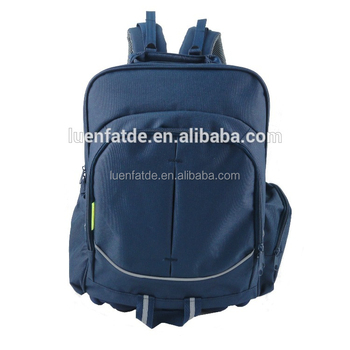 Primary School Orthopedic, safety reflective, hard wearing EVA bottom backpack