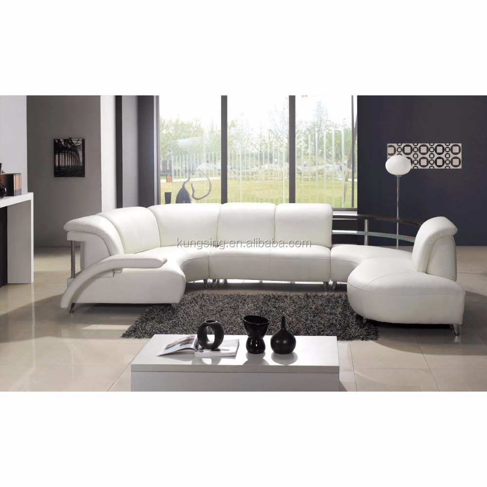 Pure Leather Round Corner Sofa Set Design Sofas Product On Alibaba