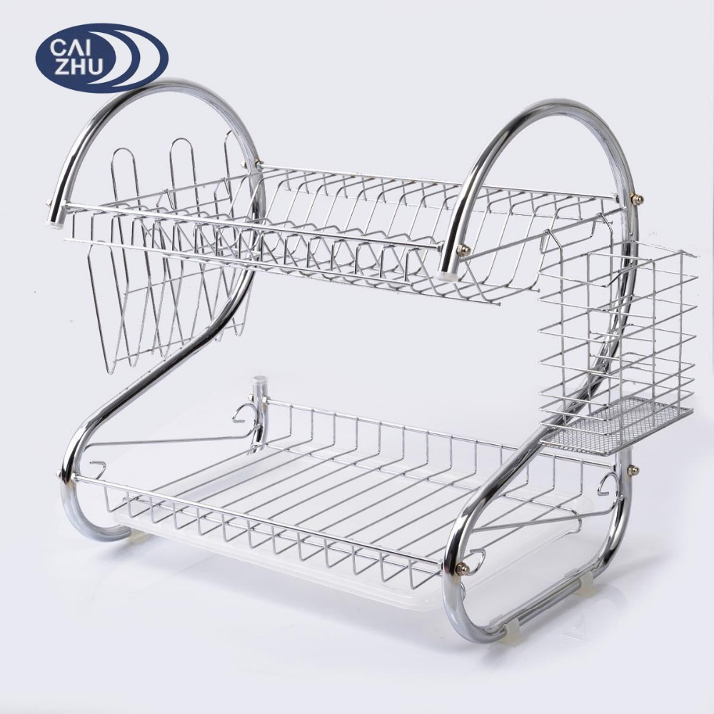 Metal Dish Drying Rack.Kitchen 2 Tier Stainless Steel S Dish Drying Rack Dish Drainer Rack Buy Kitchen Dish Rack Stainless Steel Dish Drying Rack Dish Drainer Product On