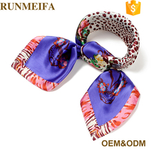 New Designer Europe Long Shawls Mufflers Hijabs Winter Warm Wholesale Girl Silk Scarves