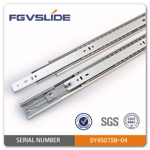 soft closing full extension sliding closet door rails