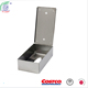 Stainless Steel Metal Facial Tissue Box Cover Holder Napkin Dispenser