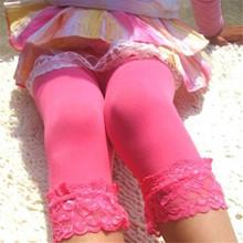 12 Colors Sweet Girl s Lace Velvet Leggings Ballet Bottom Leggings