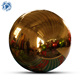 Hot Sale Hanging Custom Giant Gold Inflatable Disco Ball Decorative Inflatable Mirror Ball