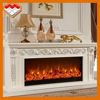 China fireplace set wooden frame for electric fireplace tv stand