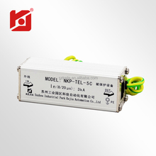 TCP/IP RJ45 Network Camera Surge Supressor/Surge Arrester for Communication Lines