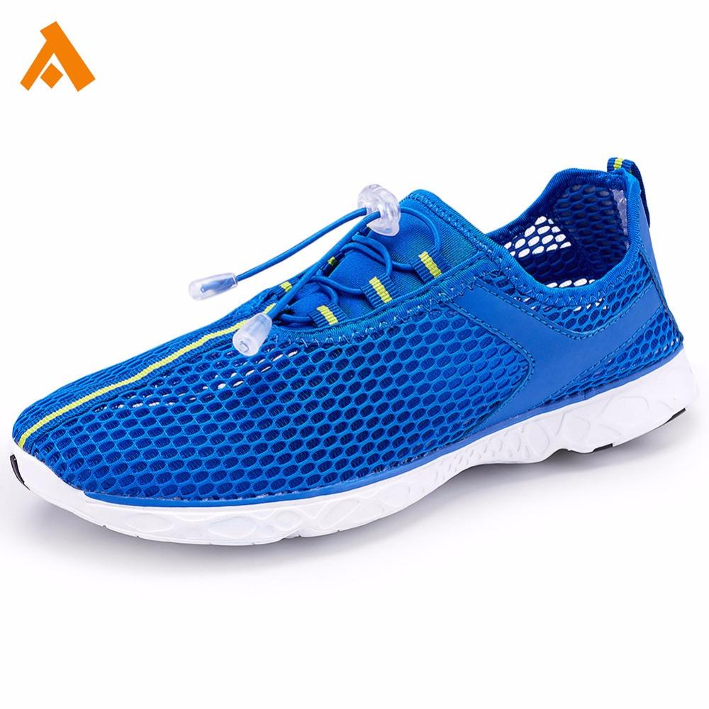 615b314ac9 Mais recente projeto da praia do homem sapatos de água para andar correndo  multi sports