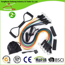 12PCS Latex Resistance Training Bands