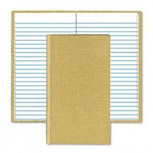 Boorum & Pease® Handy Size Bound Memo Books BOOK,MEMO,7X4-3/8,TN GEM-MF375 (Pack of8)