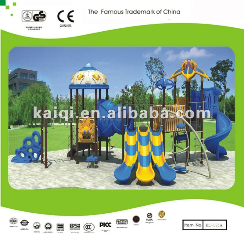 TUV EN1176 standard Children Playground Equipment with Splicing Slides,Spining Training and Climbing Dreamland