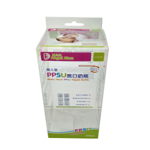 China Made PVC PET PP Plastic Packaging Box