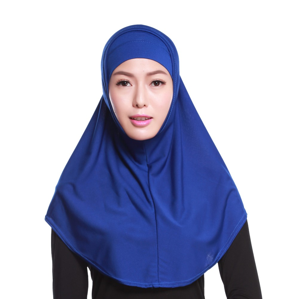 New design fashion crystal hemp muslim hijab scarf head cap inner hijab