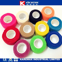 Karemax Cotton Skin/Pink Colored Cohesive Elastic Bandage