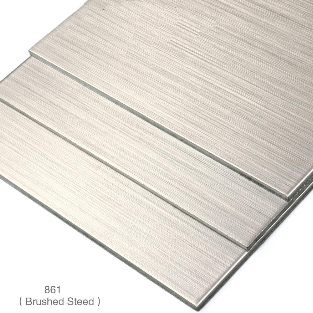 Brushed painting aluminum plastic composite panel interior wall panel