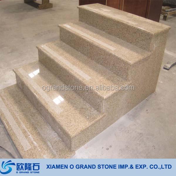 g682 sunny beige granit naturstein fertig au en treppenstufen buy au en treppen lauffl chen. Black Bedroom Furniture Sets. Home Design Ideas