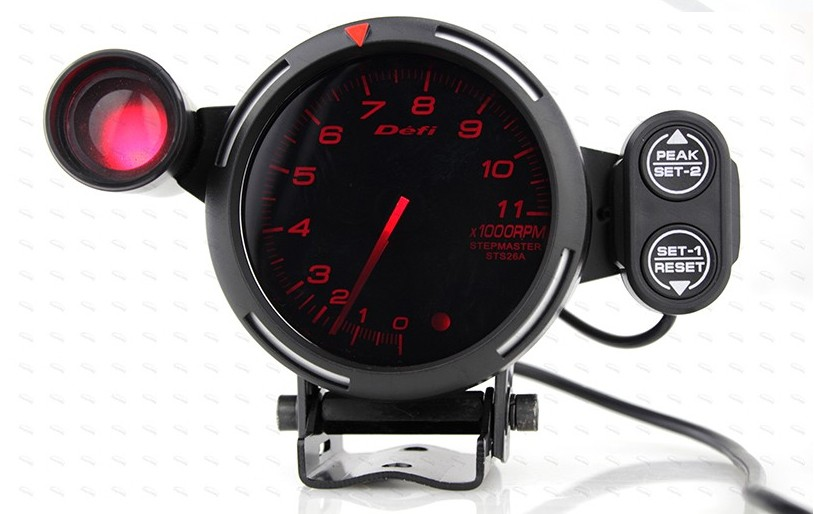 2019 80mm car defi tachometer rpm gauge universal car stepper motor bf tacometro meter blue. Black Bedroom Furniture Sets. Home Design Ideas