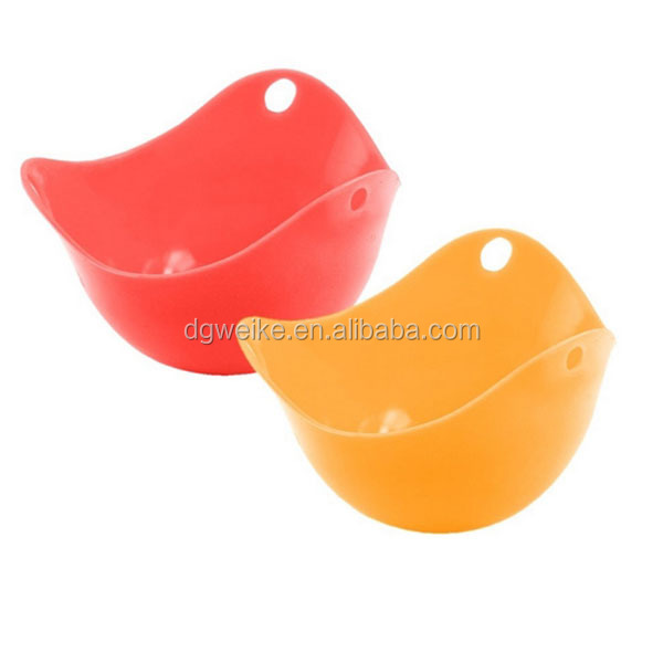 BSCI/SEDEX certified silicone easy wash egg poach pod/oven use egg steamer
