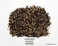 High Quality Black Pepper of Cracked 25kg in India