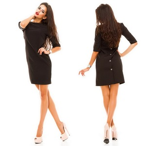 Big Discount Three Colors Summer latest office New Ladies Dress