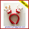 2015 new product christmas party headband christmas tree headband christmas headband with good quality