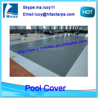 Safety pvc vinyl fabric swimming pool cover