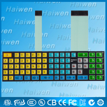 Customized Waterproof Embedded Led Membrane Keypad - Buy Membrane  Keypad,Embedded Led Membrane Keypad,Waterproof Membrane Keypad Product on