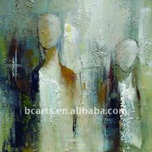 abstract people painting