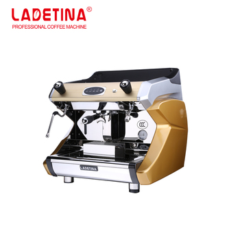 Ladetina Professional Semi-automatic Espresso Coffee Maker/120 Cups 1 group Electric Commercial Espresso Coffee Machine