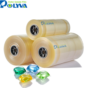 polyva water soluble packing Pva water soluble film water dissolving plastic film for laundry pods