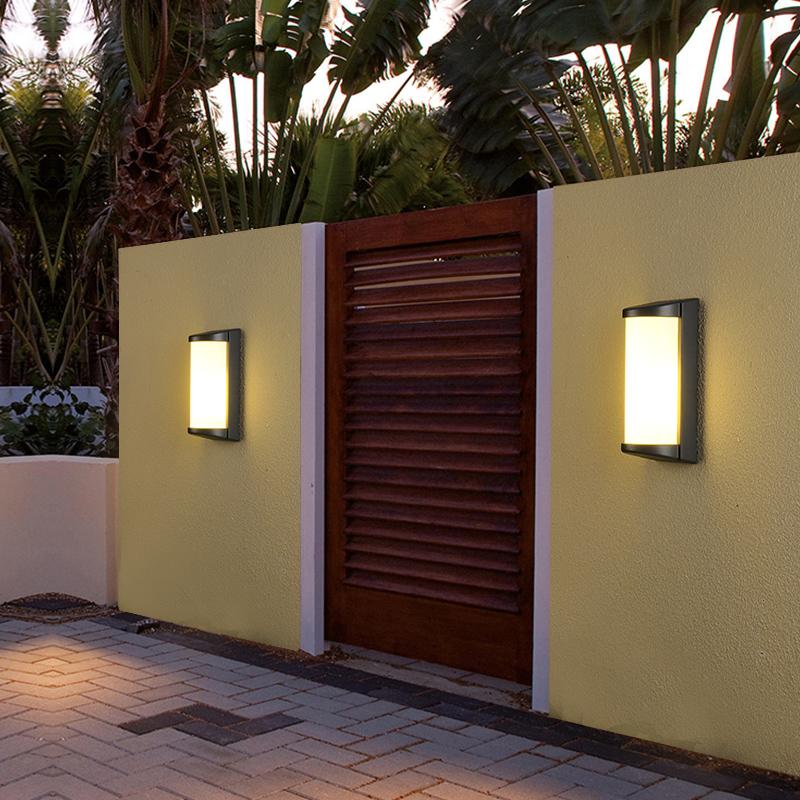 outdoor garden wall lamp e27 5w 10w 20 led led boundary solar wall light sensor wall clock 12v outdoor gas light with panel buy garden wall