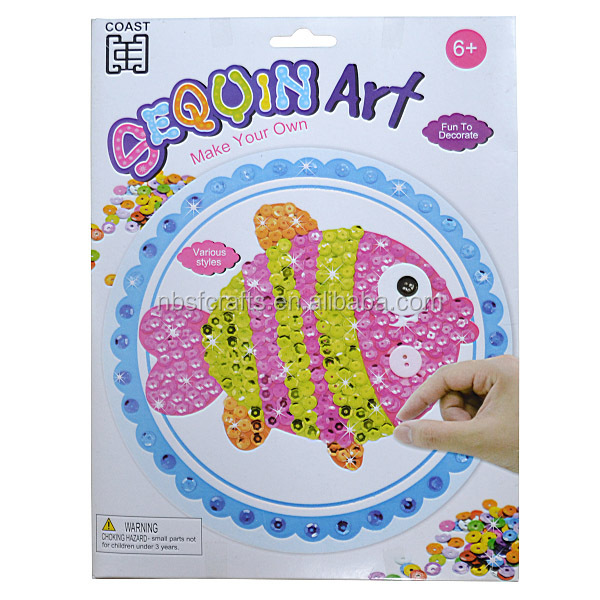 Do it yourself arts and crafts source quality do it yourself arts do it yourself arts and crafts fish sequin art kit solutioingenieria Gallery
