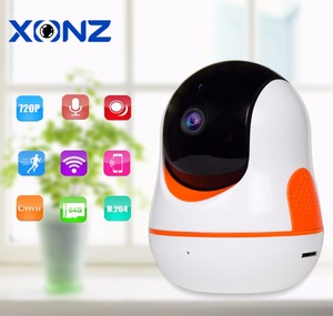 remote home live monitoring system baby pet elder nanny cam with app internet surveillance wi-fi pantilt security camera