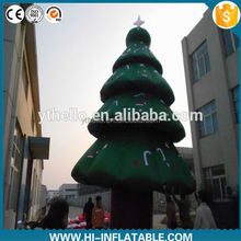 Hot sale 7ft inflatable christmas tree with led for decoration