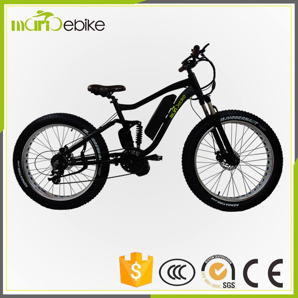 2017 1000W powered strong electric bike peerless fat snow e bicycle
