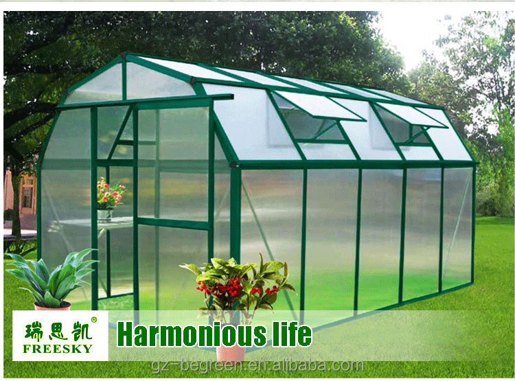 Diy indoor cold frame balcony mini plastic polycarbonate for Homemade greenhouse plastic