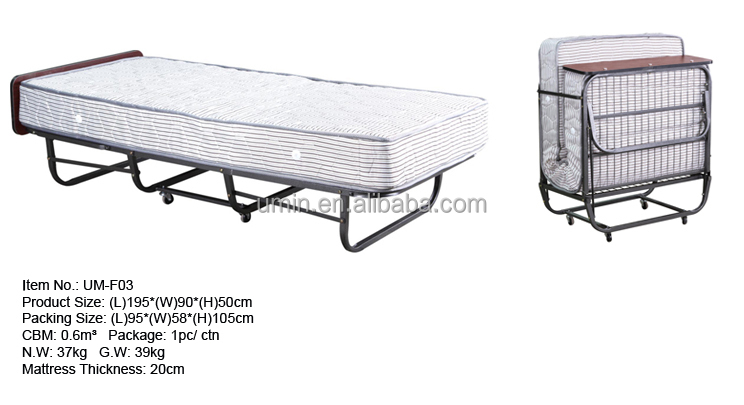 Hotel Metal Folding Extra Bed