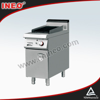 Restaurant BBQ Free Standing Commercial Lava Rock Stone Electric Grill/Lava Stone Grill/Smokeless Grill