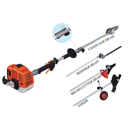 2- Stroke Engine multi 5 in 1 hedge trimmer with CE EUROII certificated