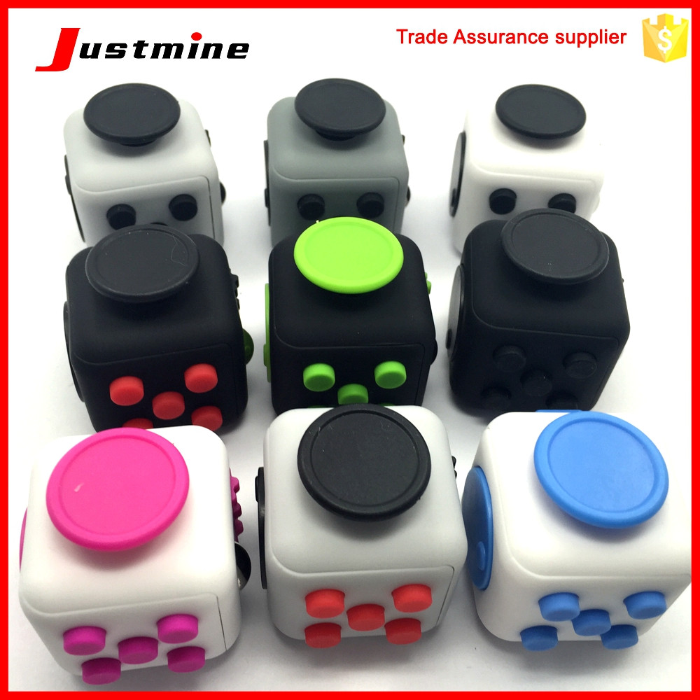High Quality Fidget Magic Cube Toys,Anti Stress Cube