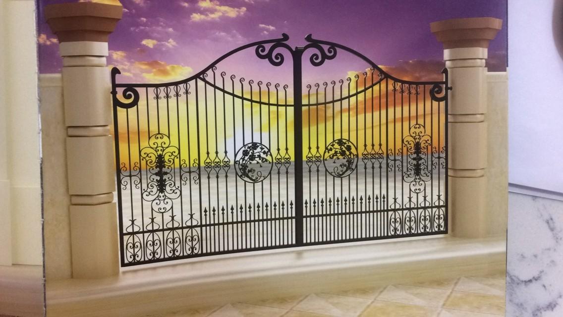 Metal Gate Designs Manual Slide Gates Italian Style