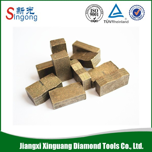 Hot Sale Sintered Diamond Segment for Sintered Segment Saw Blade for Granite Marble Lava Stone General Cutting
