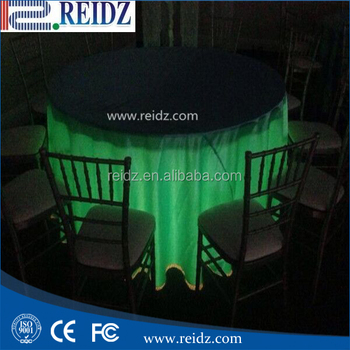 Portable Wireless Ir Remote Control Under Table Lighting For Weddings