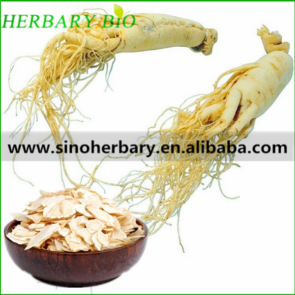 Natural health care product Panax ginseng root slices for health care