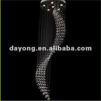 Lighting Rainbow Crystal Chandelier zhongshan led lighting